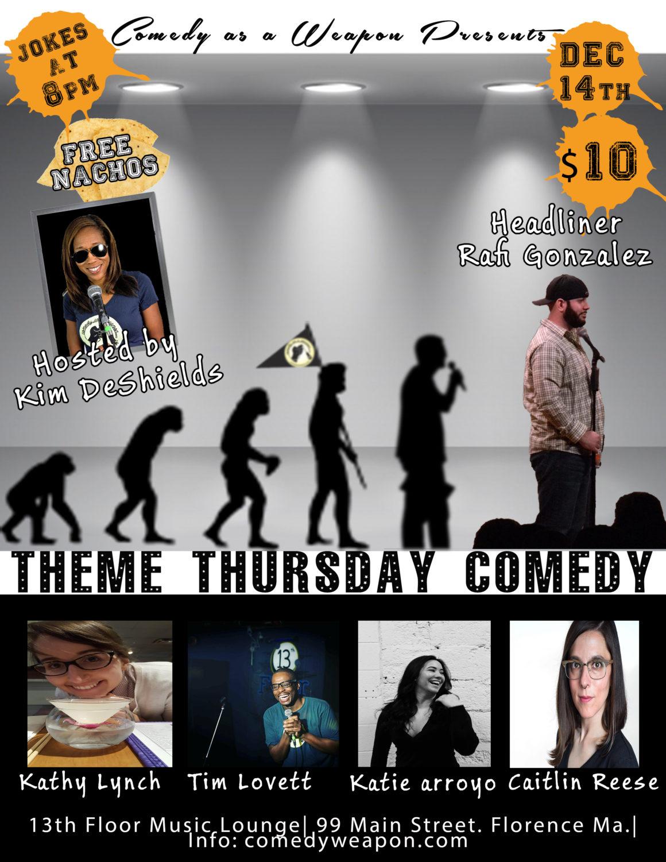 Theme Thursday Comedy